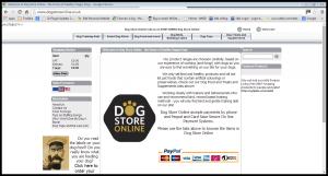 dogstoreonline old website